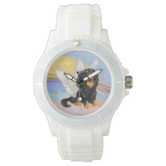 Cavalier Angel (black/tan)-(R) Wrist Watch