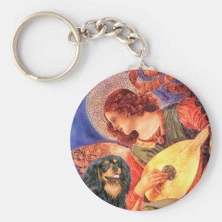 Cavalier (BT) - Mandolin Angel Basic Round Button Keychain
