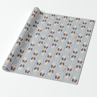 Cavalier Christmas Wrapping Paper