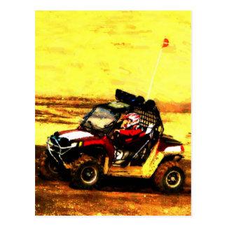 Cavalier d ATV - tous les sports mécaniques d extr Cartes Postales