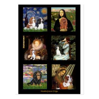 Cavalier Famous Art Masterpiece Composite (V) Postcard