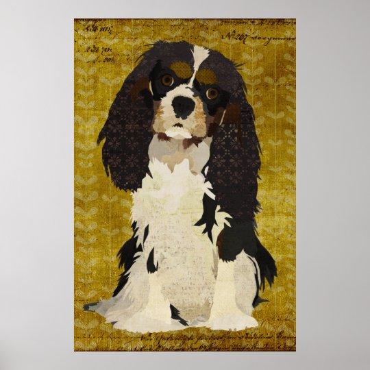 Cavalier King Charles Art Poster