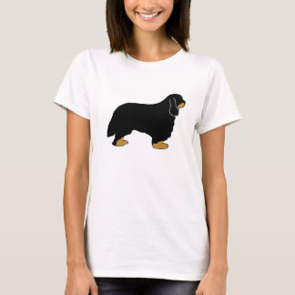 Cavalier King Charles black and tan silo T-Shirt