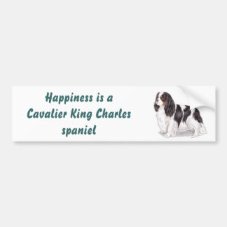 Cavalier king charles bumper sticker