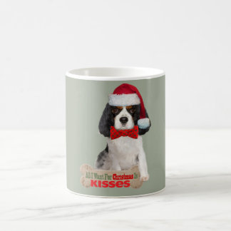 Cavalier King Charles Kisses For Christmas Cup
