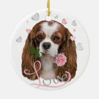 Cavalier King Charles Love Ornament