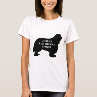 Cavalier King Charles name silo T-Shirt