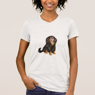 Cavalier King Charles (R) - Black and tan.png T-Shirt