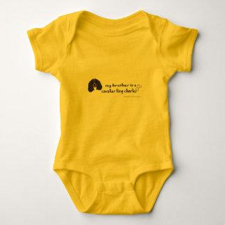cavalier king charles spaniel baby bodysuit
