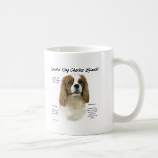 Cavalier King Charles Spaniel (Blenheim) History Coffee Mug