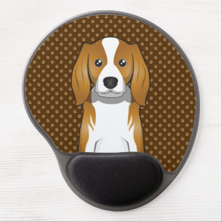 Cavalier King Charles Spaniel Cartoon Gel Mouse Pad