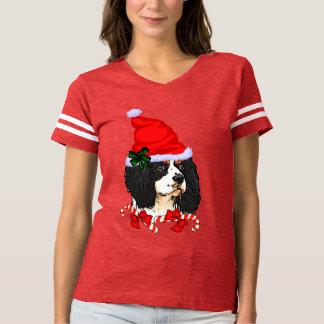 Cavalier King Charles Spaniel Christmas T-shirt