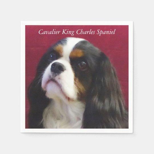 Cavalier King Charles Spaniel Cocktail Napkins Paper Napkins