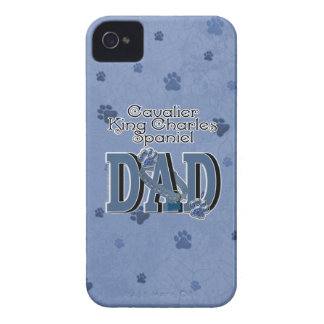 Cavalier King Charles Spaniel DAD iPhone 4 Cases
