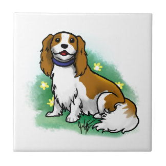 Cavalier King Charles Spaniel Decorative Tile