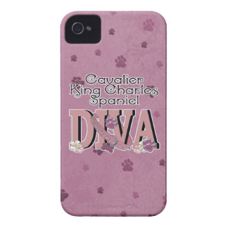Cavalier King Charles Spaniel DIVA iPhone 4 Case