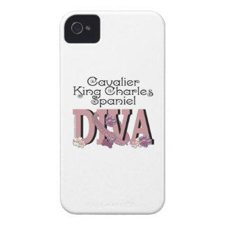 Cavalier King Charles Spaniel DIVA iPhone 4 Covers