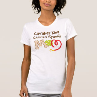 Cavalier King Charles Spaniel Dog Breed Mom Gift T-Shirt