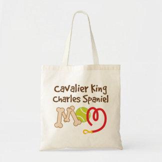 Cavalier King Charles Spaniel Dog Breed Mom Gift Tote Bag