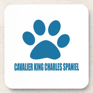 CAVALIER KING CHARLES SPANIEL DOG DESIGNS COASTER