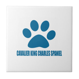 CAVALIER KING CHARLES SPANIEL DOG DESIGNS TILE