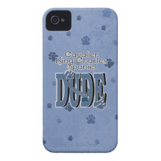 Cavalier King Charles Spaniel DUDE iPhone 4 Case