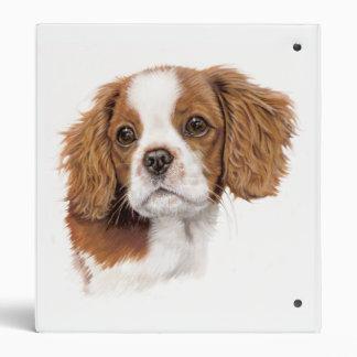 Cavalier King Charles Spaniel Folder Vinyl Binder