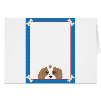 Cavalier King Charles Spaniel Frame Card