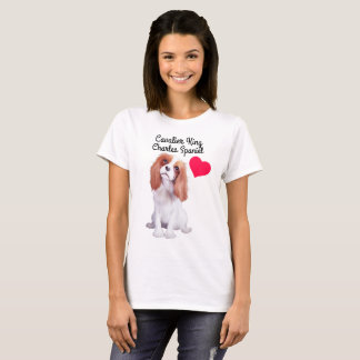 Cavalier King Charles Spaniel Illustrated T-Shirt