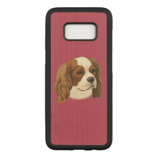Cavalier King Charles Spaniel in Portrait Carved Samsung Galaxy S8 Case