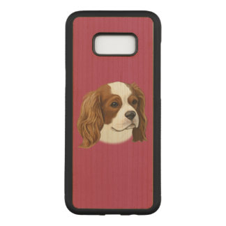 Cavalier King Charles Spaniel in Portrait Carved Samsung Galaxy S8+ Case