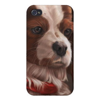 Cavalier King Charles Spaniel iPhone 4 Cover