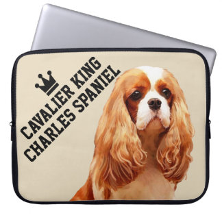 Cavalier King Charles Spaniel Laptop Sleeve