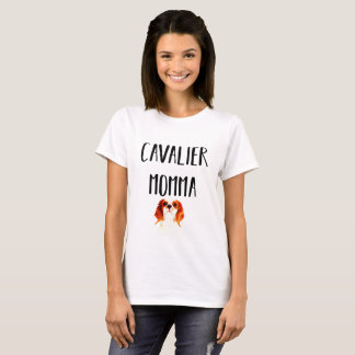 Cavalier King Charles Spaniel Mom T-Shirt