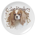 Cavalier King Charles Spaniel Plate