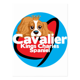 Cavalier King Charles Spaniel Postcard