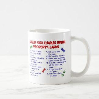 CAVALIER KING CHARLES SPANIEL Property Laws 2 Coffee Mug