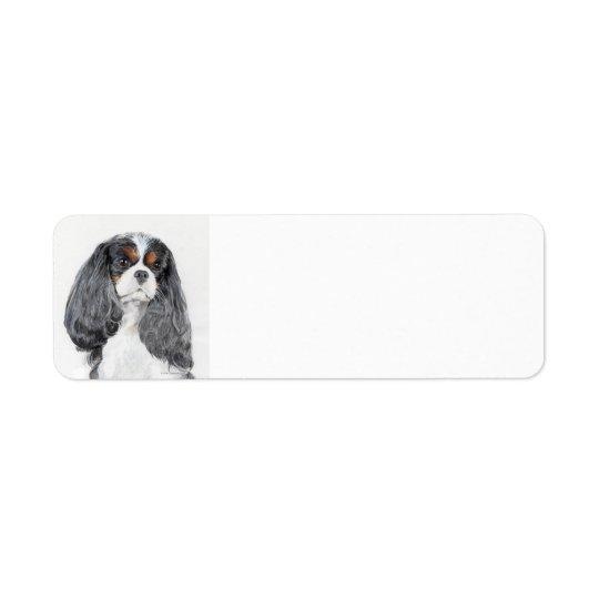Cavalier King Charles Spaniel Return Address Label
