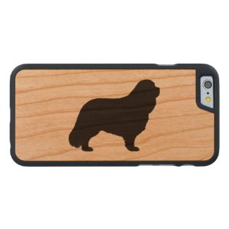 Cavalier King Charles Spaniel Silhouette Carved® Cherry iPhone 6 Slim Case
