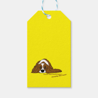 Cavalier King Charles Spaniel - Simply the best! Gift Tags