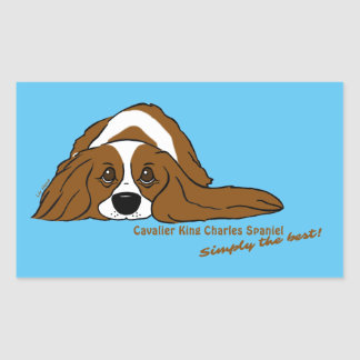 Cavalier King Charles Spaniel - Simply the best! Sticker