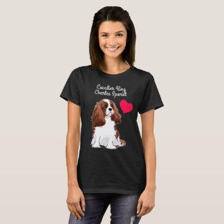 Cavalier King Charles Spaniel T-Shirt (Black)