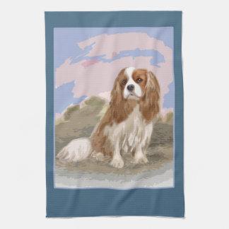 Cavalier King Charles Spaniel Tea Towel