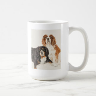 Cavalier King Charles Spaniels painting Coffee Mug
