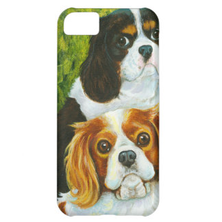 Cavalier King Charles Spaniels Portrait iPhone 5C Case