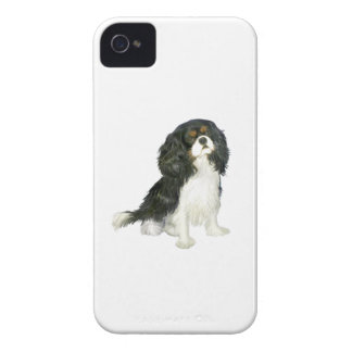 Cavalier King Charles - Tri Colored iPhone 4 Case-Mate Case