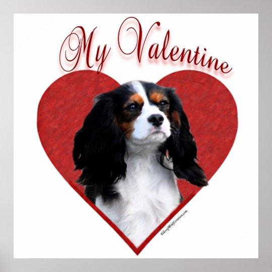 Cavalier My Valentine Poster