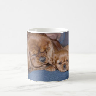Cavalier Ruby Father & Son Coffee Mug
