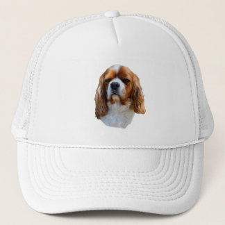 Cavalier Spaniel Dog Face, Trucker Hat