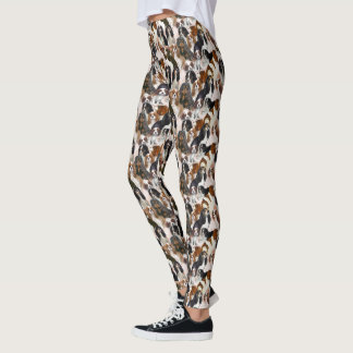 Cavalier spaniel leggings